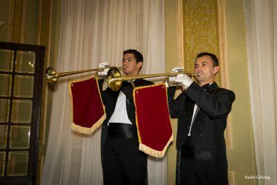 Música para casamento em Curitiba com clarins - Heber de Castro